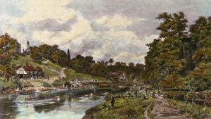 Shrewsbury School,The Regatta (Restrike Etching) by Henry B Wimbush