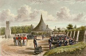 RA Exercises 1844 (Restrike Etching) by Sir Francis Grant