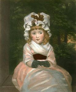 Miss Penelope Boothby (Restrike Etching) by Sir Joshua Reynolds