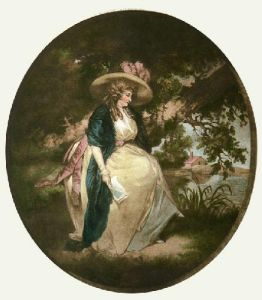 Pledge of Love (Restrike Etching) by George Morland