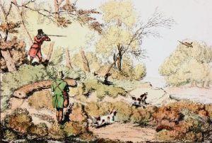 Pheasant (Restrike Etching) by Henry Alken