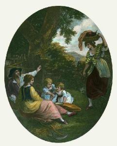Noonday (Restrike Etching) by William Hamilton
