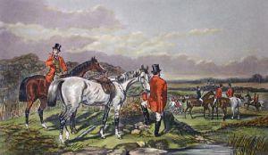 The Meet (Restrike Etching) by John Frederick Herring