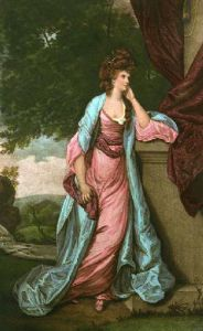Lady Louisa Manners (Restrike Etching) by Sir Joshua Reynolds