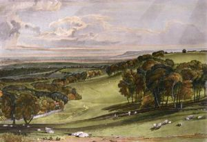 Rosehill (Restrike Etching) by Joseph Mallord William Turner