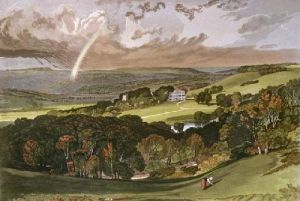 Ashburnham (Restrike Etching) by Joseph Mallord William Turner