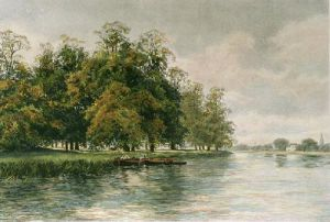 Royal River (Restrike Etching) by William Charles Piquenit