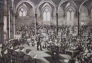 Harrow, Speech day (Restrike Etching) by Anonymous