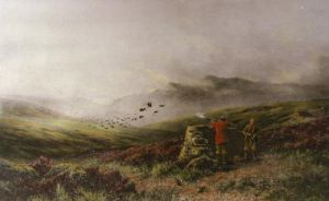 War (Restrike Etching) by Douglas Adams