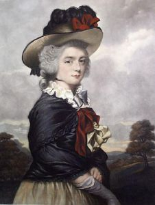 Miss Keppel (Restrike Etching) by Sir Joshua Reynolds