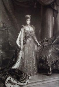 Queen Alexander (Restrike Etching) by Sir Samuel Luke Fildes