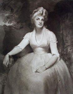 Mrs Dawson (Restrike Etching) by George Romney