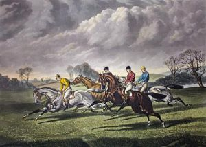 Now They're Off (Restrike Etching) by Sturgess