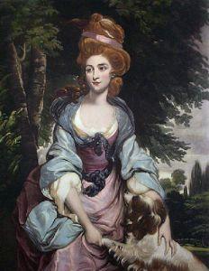 Mrs Hardinge (Restrike Etching) by Sir Joshua Reynolds