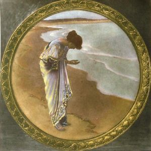 Sea Hath its Pearls (Restrike Etching) by William Henry Margetson