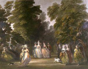 St.James's Park (Restrike Etching) by Thomas Gainsborough