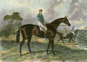 Sir Bevys (Restrike Etching) by James E. Doyle