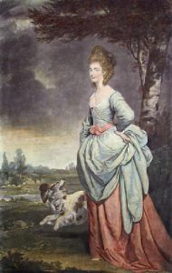 Mrs Matthews (Restrike Etching) by Sir Joshua Reynolds