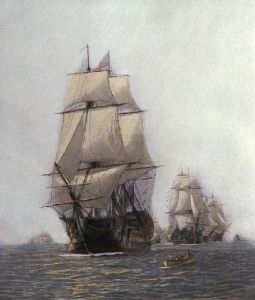 First Journey of Victory (Restrike Etching) by William Lionel Wyllie