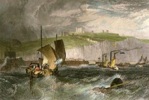 Dover (Restrike Etching) by Joseph Mallord William Turner