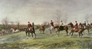 An Afternoon Draw (Restrike Etching) by Heywood Hardy