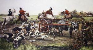 Not Caught Yet (Restrike Etching) by Alfred William Strutt