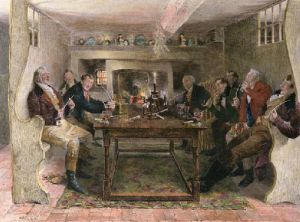 Squires Song (Restrike Etching) by Walter Dendy Sadler