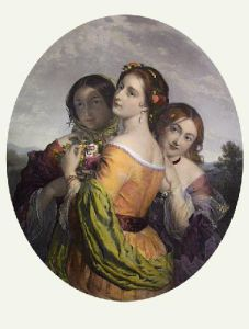 Bouquet of Beauty (Restrike Etching) by Charles Baxter