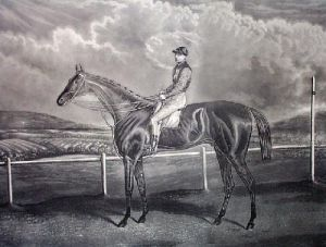 Galtee Moore (Restrike Etching) by Anonymous