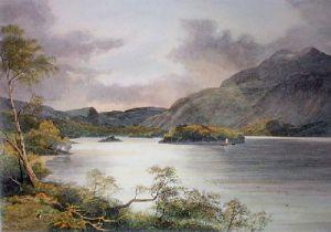 Loch Katrine (Restrike Etching) by John McWhiter