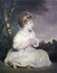 The Age of Innocence (Restrike Etching) by Sir Joshua Reynolds