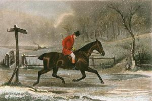 Pleasant Ride Home (Restrike Etching) by TNH Walsh