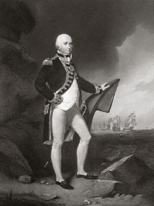 Lord Collingwood (Restrike Etching) by C. Lonsdell