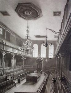 House of Commons (Restrike Etching) by William Burgess