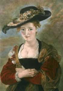Rubens Wife (Restrike Etching) by Peter Paul Rubens