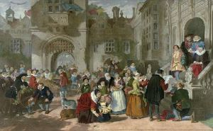 Coming of Age (Restrike Etching) by William Powell Frith