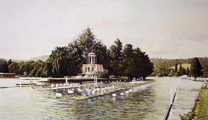 Henley Royal Regatta (Restrike Etching) by William Bishop