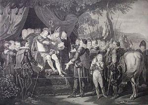 King John - Magna Carta (Restrike Etching) by Alex Mortimer