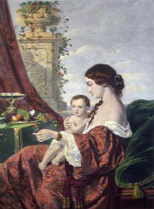 Maternal Love (Restrike Etching) by Piet T Van Wyngaerd