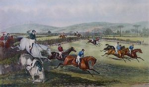Vale of Aylesbury - Plate 1 (Restrike Etching) by Francis Calcraft Turner