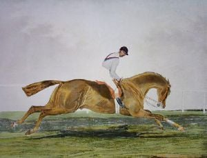 George Frederick (Restrike Etching) by Anonymous