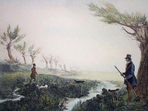 Snipe (Restrike Etching) by William Henry Davis