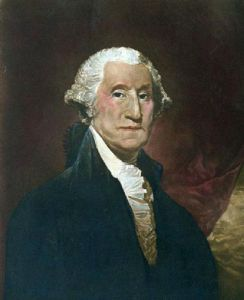 Washington (Restrike Etching) by Gilbert Stuart