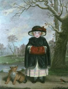 Lady Caroline Montague (Restrike Etching) by Sir Joshua Reynolds