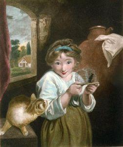 Mucipula (Restrike Etching) by Sir Joshua Reynolds