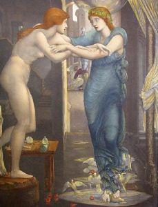 Birth of Galatea (Restrike Etching) by Sir Edward Burne-Jones