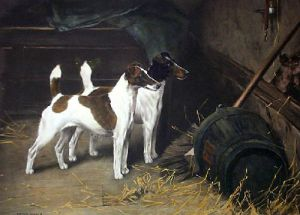 Wait And See (Restrike Etching) by Arthur Wardle