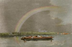 A Rainbow (Restrike Etching) by David Cox