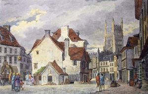 Cirencester (Restrike Etching) by John Burden