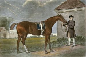 Eclipse (Restrike Etching) by George Stubbs